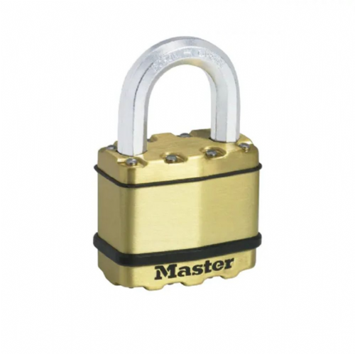 Master Lock M5BEURD Excell Brass Finish 50mm Padlock